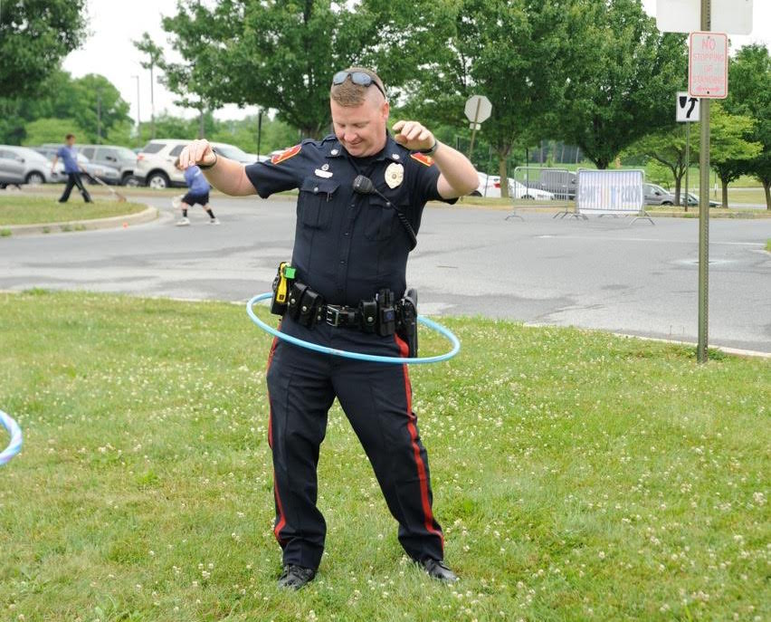 Fun with South Whitehall Twp. Police Dept.